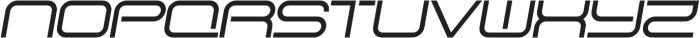 SB Vibe Extended Medium Italic otf (500) Font UPPERCASE