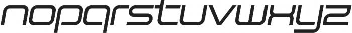 SB Vibe Extended Medium Italic otf (500) Font LOWERCASE
