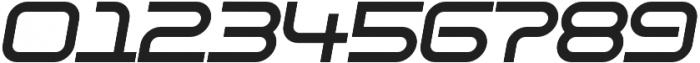 SB Vibe Extended Semibold Italic otf (600) Font OTHER CHARS