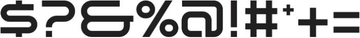 SB Vibe Extended Semibold otf (600) Font OTHER CHARS