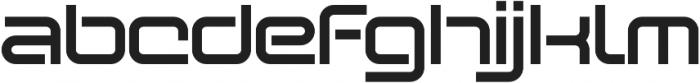 SB Vibe Extended Semibold otf (600) Font LOWERCASE