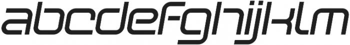 SB Vibe Extrawide Medium Italic otf (500) Font LOWERCASE