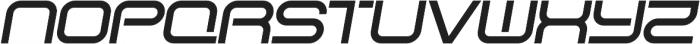 SB Vibe Extrawide Semibold Italic otf (600) Font UPPERCASE