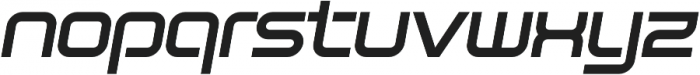 SB Vibe Extrawide Semibold Italic otf (600) Font LOWERCASE