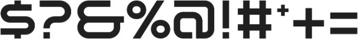 SB Vibe Extrawide Semibold otf (600) Font OTHER CHARS