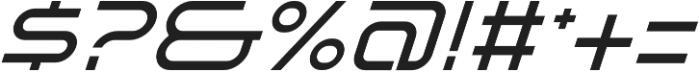 SB Vibe Italic otf (400) Font OTHER CHARS