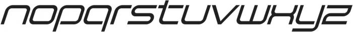 SB Vibe Italic otf (400) Font LOWERCASE