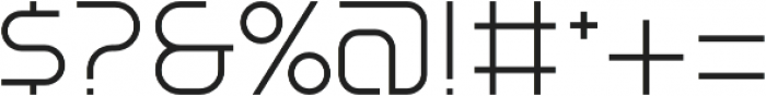 SB Vibe Medium Light otf (300) Font OTHER CHARS