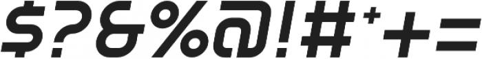 SB Vibe Semicondensed Semibold Italic otf (600) Font OTHER CHARS