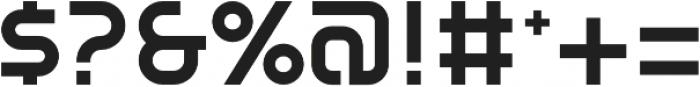 SB Vibe Semicondensed Semibold otf (600) Font OTHER CHARS
