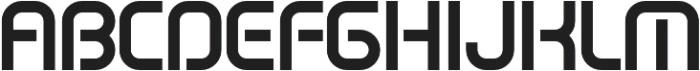 SB Vibe Semicondensed Semibold otf (600) Font UPPERCASE