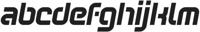 SB Vibe Semicondensed otf (700) Font LOWERCASE