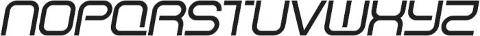 SB Vibe Wide Medium Italic otf (500) Font UPPERCASE