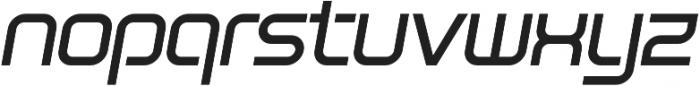 SB Vibe Wide Medium Italic otf (500) Font LOWERCASE