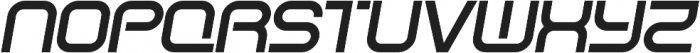SB Vibe Wide Semibold Italic otf (600) Font UPPERCASE