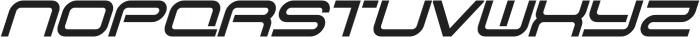 SB Vibe otf (700) Font UPPERCASE