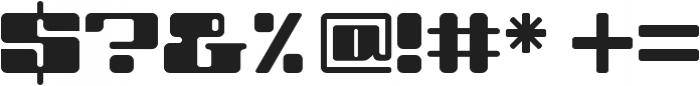 SbB Danceflr otf (400) Font OTHER CHARS