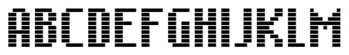 SB Message Line Regular Font UPPERCASE