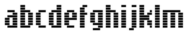 SB Message Line Regular Font LOWERCASE