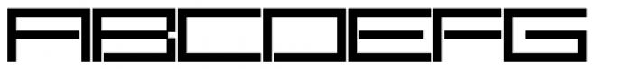 SB Carbon Font UPPERCASE