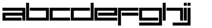 SB Carbon Font LOWERCASE