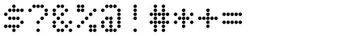 SB Liquid Dot Font OTHER CHARS