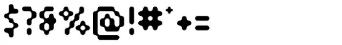 SB Modem Font OTHER CHARS