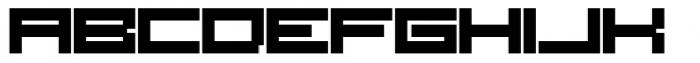 SB Raster Font UPPERCASE