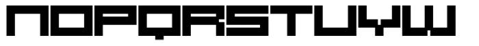 SB Raster Font LOWERCASE