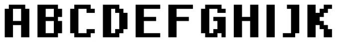 SB Standard Bold Font UPPERCASE