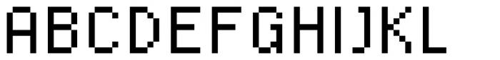 SB Standard Font UPPERCASE