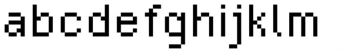 SB Standard Font LOWERCASE