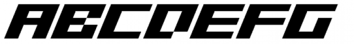 SB Superbloc Italic Font UPPERCASE
