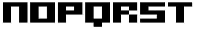 SB Superbloc Regular Font LOWERCASE