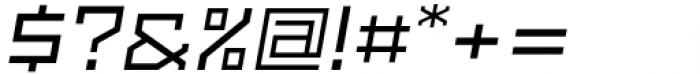 SbB Powertrain Extra Wide Medium Italic Font OTHER CHARS
