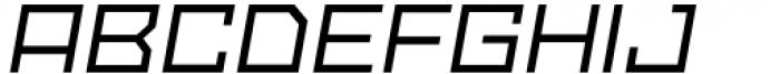 SbB Powertrain Extra Wide Medium Italic Font UPPERCASE
