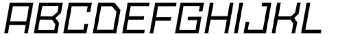 SbB Powertrain Medium Italic Font UPPERCASE