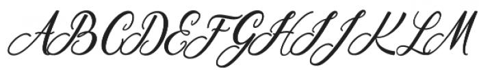 Scallion otf (400) Font UPPERCASE