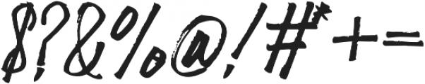 Scamfuk otf (400) Font OTHER CHARS