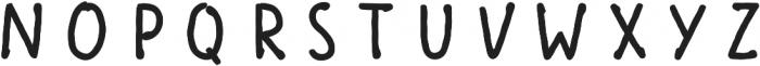 Scandiebox Four Bold otf (700) Font UPPERCASE