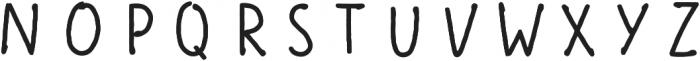 Scandiebox Four otf (400) Font UPPERCASE