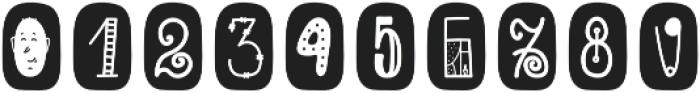 ScapegraceBlackBold Regular otf (700) Font OTHER CHARS