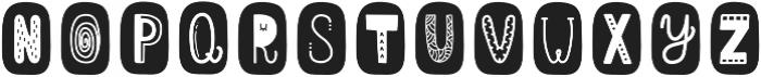 ScapegraceBlackBold Regular otf (700) Font UPPERCASE