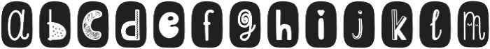 ScapegraceBlackBold Regular otf (700) Font LOWERCASE