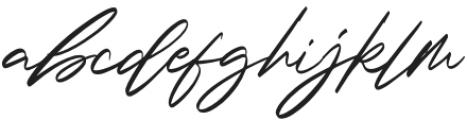 Scargent-Regular otf (400) Font LOWERCASE