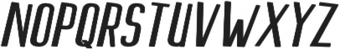 Scarlett  Sans S Display Slant otf (400) Font LOWERCASE