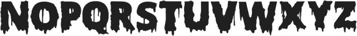Scary Halloween Font ttf (400) Font UPPERCASE