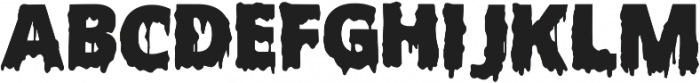 Scary Halloween Font ttf (400) Font LOWERCASE