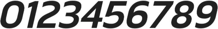 Scatio DemiBold Italic otf (600) Font OTHER CHARS