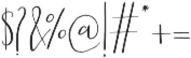 Scatter Sunshine Alt Script otf (400) Font OTHER CHARS